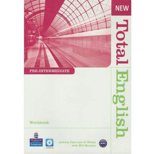 New Total English Pre-Intermedia Workbook Z Płytą Cd, oprawa miękka