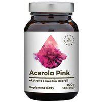 Aura Herbals Acerola Pink w proszku 100g - suplement diety (5902479610467)