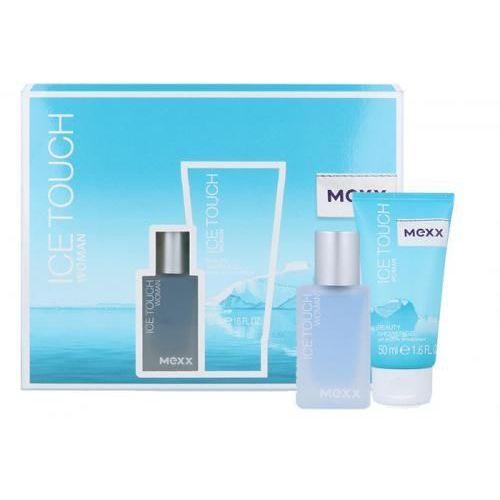 Ice touch woman 2014 zestaw edt 15ml + 50ml żel pod prysznic dla kobiet Mexx - Super oferta