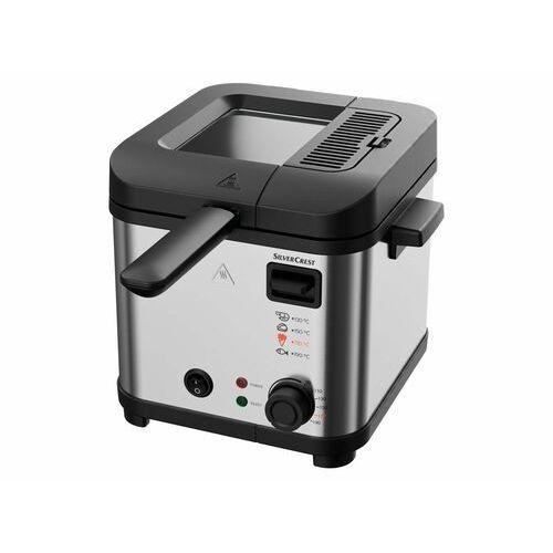 SILVERCREST® Minifrytkownica SFM 850 A5, 850 W, kolor srebrny