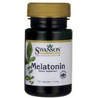 Kapsułki Swanson Melatonina 3mg 120 kaps.
