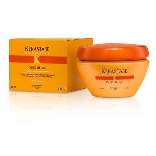 Oleo-relax - maska wygładzająca do włosów grubych, nieposłusznych 200ml Kerastase