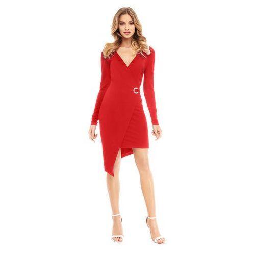 Sukienka fern w kolorze czerwonym, Sugarfree, 34-40