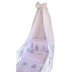 COSING 4 – częściowy zestaw pościeli do łóżeczka COMFORT jasnoróżowy
