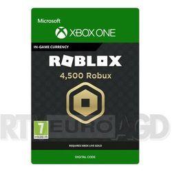 Roblox - 4500 robuxów [kod aktywacyjny] xbox one marki Microsoft