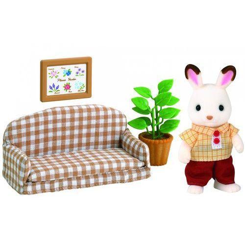 czekoladowe króliki - tata na kanapie 2201 marki Sylvanian families