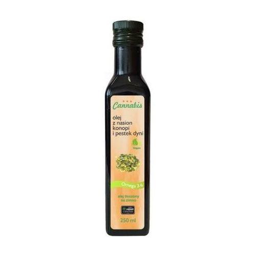 Olej z pestek dyni i konopi 250 ml.