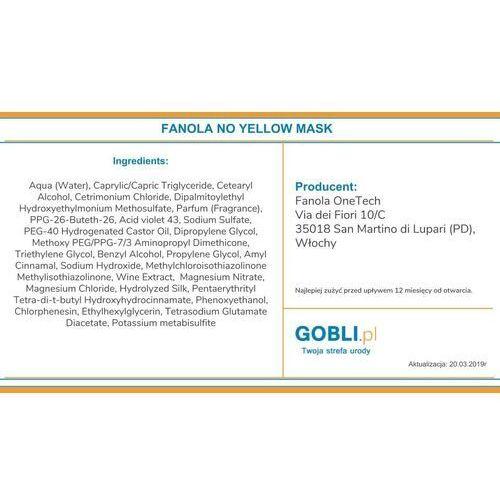 Fanola no yellow maska neutralizująca żółty kolor 350ml (8032947863846)