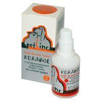 VETOQUINOL Kerabol - preparat do stosowania przy nadmiernym wypadaniu włosów, łamliwej, matowej i suchej sierści 50ml (5904109013785)