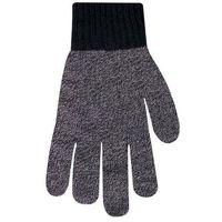Rękawiczki męskie jednolite melanżowe 26