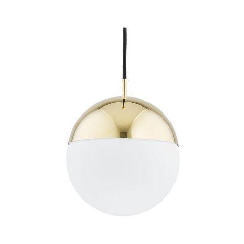 Lampa wisząca livia ip22 biało złota e27 (PREZENT)