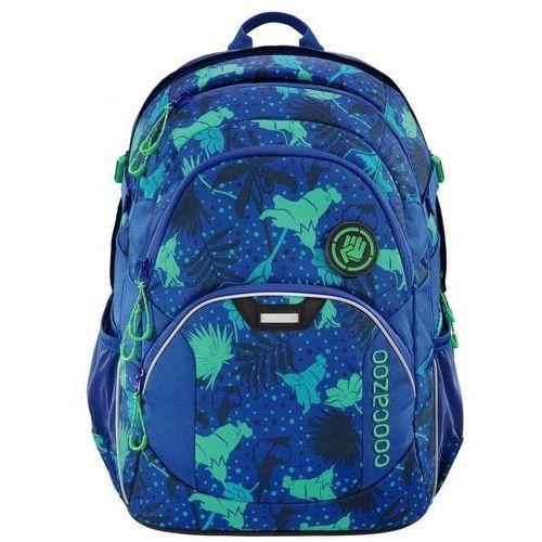 CoocaZoo plecak szkolny JobJobber2, Tropical Blue, kolor niebieski