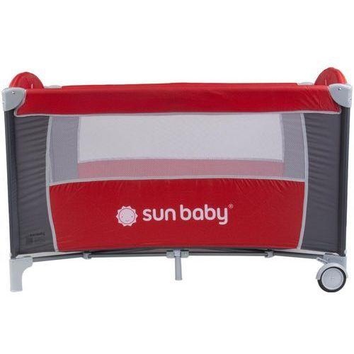 Łóżeczko jednopoziomowe sweet dreams czerwone sd707/gc Sun baby