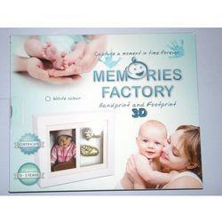 Zabawki kreatywne  MEMORIES FACTORY Biała Stokrotka