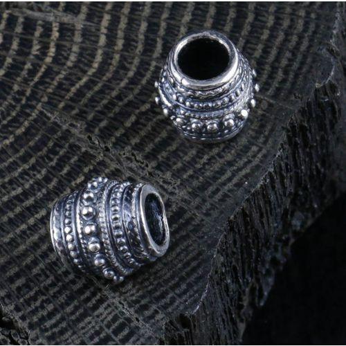 Pierścień wikingów do brody srebro Ag 925 FGJ211