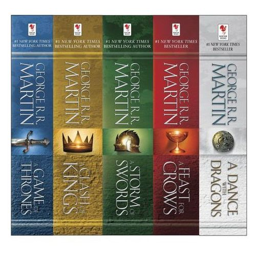 A Song of Ice and Fire, 5 Vols., George R. R. Martin