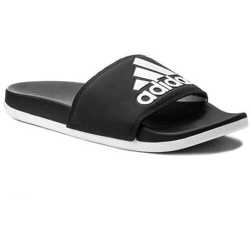 Klapki - adilette cf+ logo w cg3427 cblack/ftwwht/cblack marki Adidas