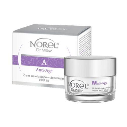 Norel (dr wilsz) anti-age moisturizing and firming cream spf 15 krem nawilżająco - ujędrniający spf 15 (dk031)