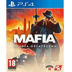 Gra PS4 Mafia: Edycja ostateczna