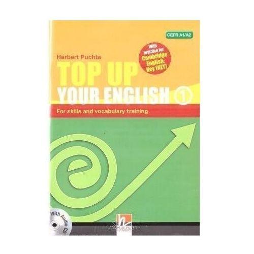 Top Up Your English 1 A1/A2 + audio CD - Herbert Puchta (48 str.)