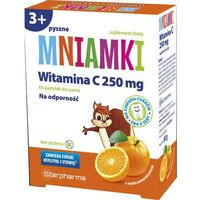 Mniamki Witamina C 250mg x 60 pastylek do ssania
