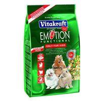 Vitakraft emotion kids - karma dla młodych królików 600g