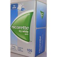 Pastylki Nicorette Icy White 2mg x 105szt