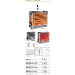 Wózki i stoły narzędziowe  Beta AGRO-METAL
