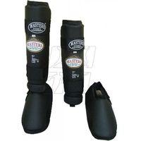 Ochraniacz na goleń i stopę Masters NS-2 czarny
