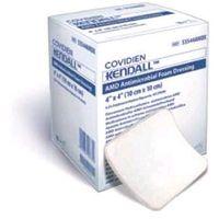 Kendall amd pianka / opatrunek bakteriobójczy 10x10cm - 10szt.
