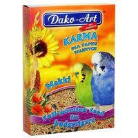DAKO-ART Makki - Pełnowartościowy pokarm dla papużek falistych 1kg