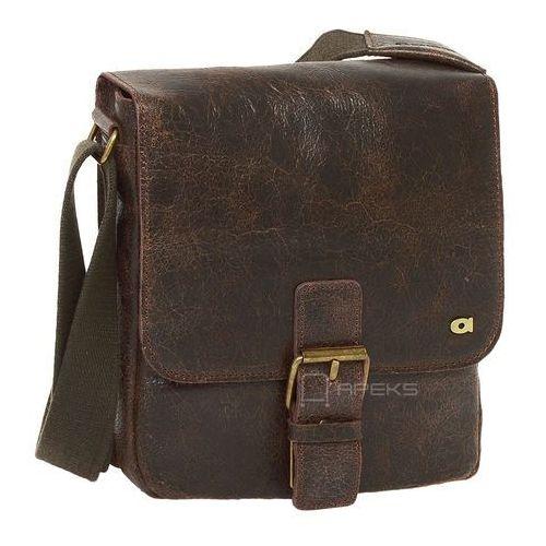 Daag jazzy wanted 11 torba skórzana na ramię / ciemny brąz - ciemny brąz (5907559200583)