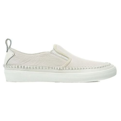 Clarks kessell slip white leather-261323097