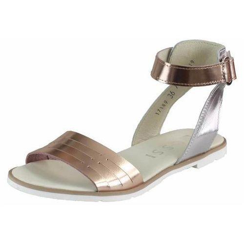 Sandały letnie Nessi 17189, kolor szary