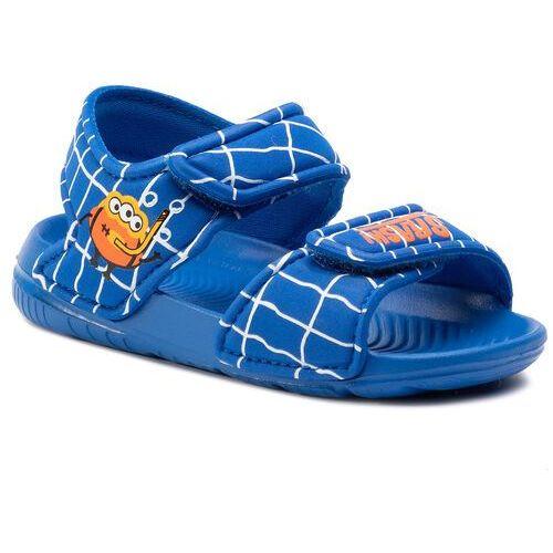 Adidas Sandały - altaswim i ee9029 blue/blue/orange