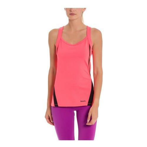 Bench Podkoszulka - active tank top neon bright pink as swatch (pk11423) rozmiar: s