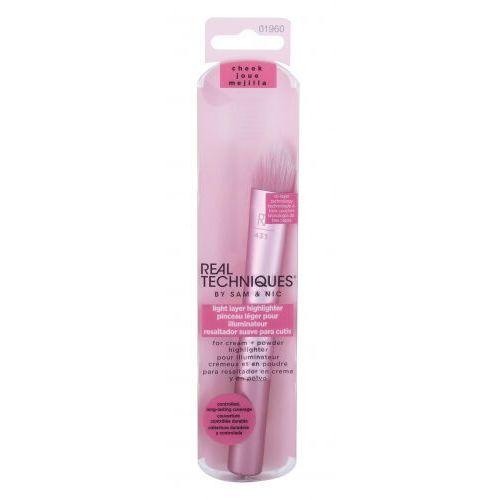 Real techniques brushes light layer highlighter pędzel do makijażu 1 szt dla kobiet - Rewelacyjny rabat