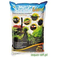 shrimp sand podłoże do akwarium z krewetkami brązowe 4kg marki Aqua art
