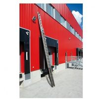 Dwuczęściowa drabina aluminiowa wysuwana, 2x17 stopni, 8,5 m marki B2b partner