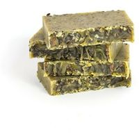 mydło naturalne Len z Pyłkiem Pszczelim - Miodowa Mydlarnia