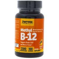 Pastylki Jarrow Formulas Methyl B12 (Metylokobalamina) 2500 mcg - 100 pastylek