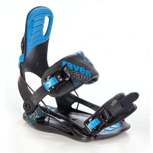 Raven Wiązania snowboardowe s220 (blue) 2019 (5902276683091)