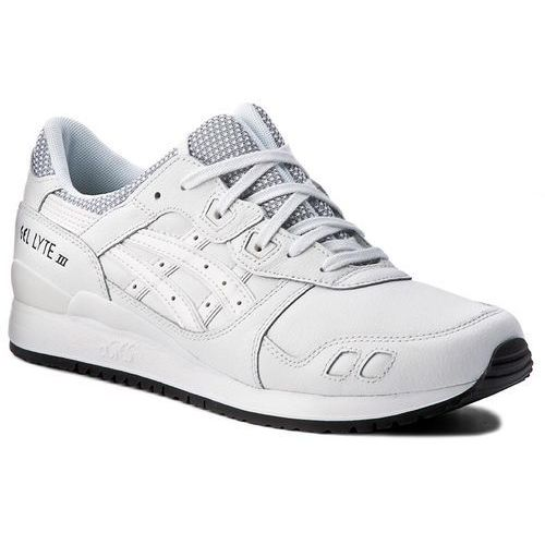 Asics Sneakersy - tiger gel-lyte iii hl701 white/white 0101