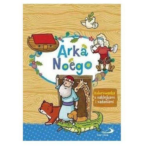 Edycja świętego pawła Arka noego - kolorowanka z naklejkami i zadaniami (9788377972441)