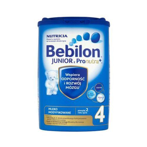 800g junior 4 z pronutra mleko modyfikowane powyżej 2 roku Bebilon