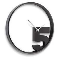 Zegar take 5 (czarny) d2 marki D2design