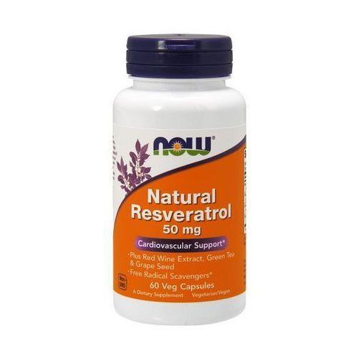 Now Foods Natural Resveratrol trans 60 kaps