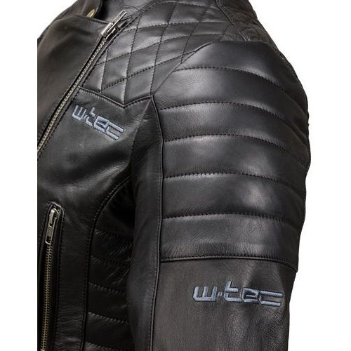 132e4c5289403 Damska skórzana kurtka motocyklowa W-TEC Corallia