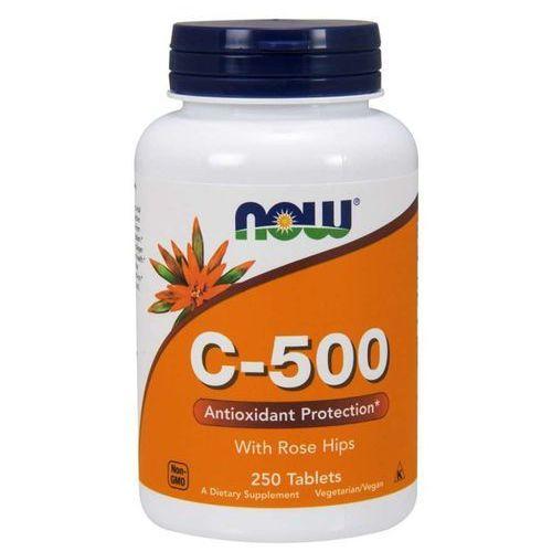 Tabletki Now Foods Witamina C 500 mg z Dziką Różą 250 tabletek - 250 tabletek