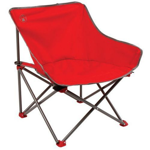 Coleman Krzesło rozkładane kick back czerwony + darmowy transport! (3138522082956)
